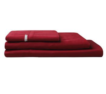 Ruby Red Sheet Set