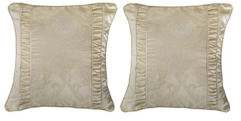 Bianca Annabelle Gold European Pillowcase