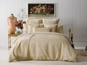 Bianca Annabelle Gold Quilt Cover Set