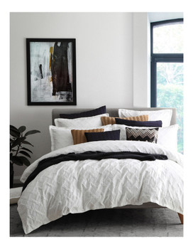 Private Collection Chiswick White Quilt Cover Set