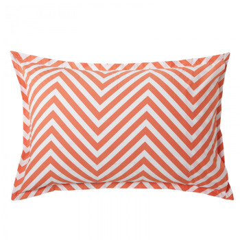 Marley Tangerine Pillowcases