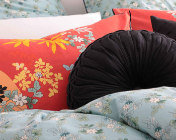 Dynasty Red Quilt Cover Set