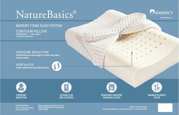 Alastairs NaturesBasic Memory Foam Contour Pillow