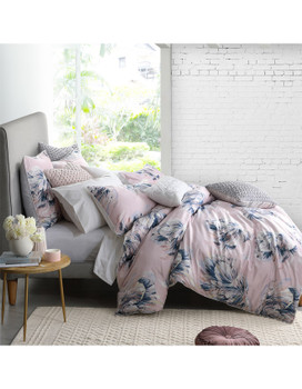 Tullie Blush Quilt Cover Set