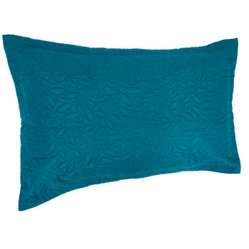 Teal Botanica Coverlet