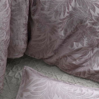 Chenille Sunbury Dusk Super King Quilt Cover Set from Private Collection