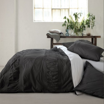 Simplicity Grey Quilt Cover Set