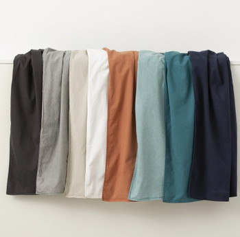 Soft Cotton Queen Size Stonewash Quilt Cover Set from In 2 Linen
