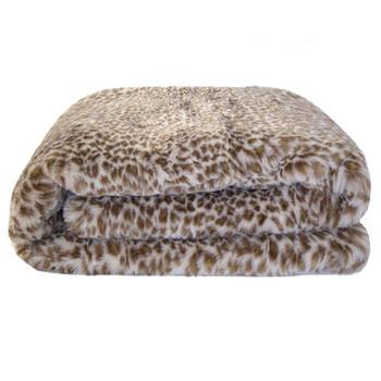 Bambury Leopard Throw Rug
