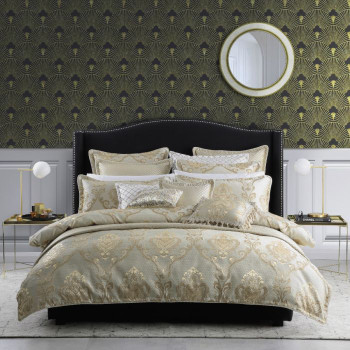 Castille Gold Quilt Cover Set