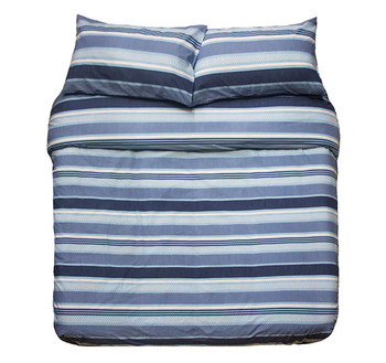 Indiana Blue Quilt Cover Set