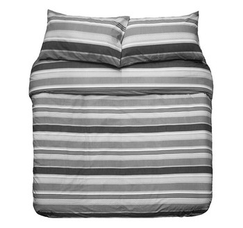 Indiana Grey Quilt Cover Set