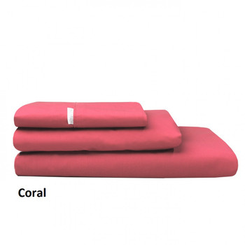 Coral Pink Pillowcases