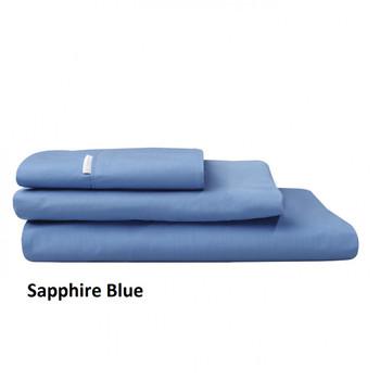 Sapphire Blue Pillowcases