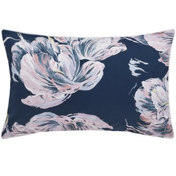 Valentine Navy Pillowcase