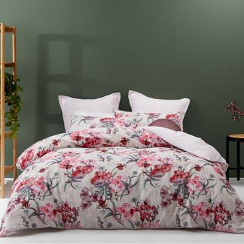 Clara Pink Quilt Cover Set