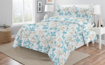 Georges Ava Single Size Quilt / Comforter Set 250gsm Fill Weight