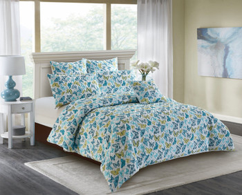 Georges Butterfly quilt cover set