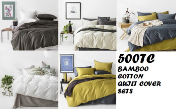 Bamboo Cotton Quilt Covers