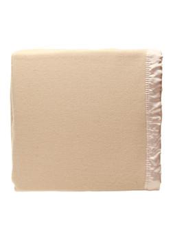 King Size Wool Blanket Australian Merino Wool by Alastairs - Light Mocha / Latte