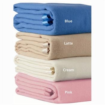 Pink Wool BlanAlastairs Latte Blanketket