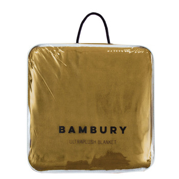 Tobacco Ultraplush Blanket Super Soft and Warm by Bambury