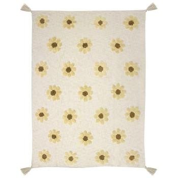 Daisy Tufted Throw Rug 130 x 170cm Cotton from Bambury