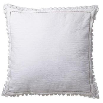 Amirah White European PIllowcase