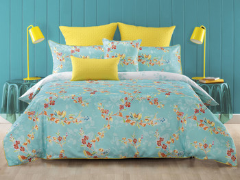 Bianca Akasha Queen Quilt Cover Set