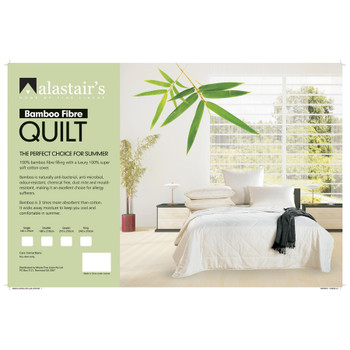 Alastairs Bamboo Summer Quilt