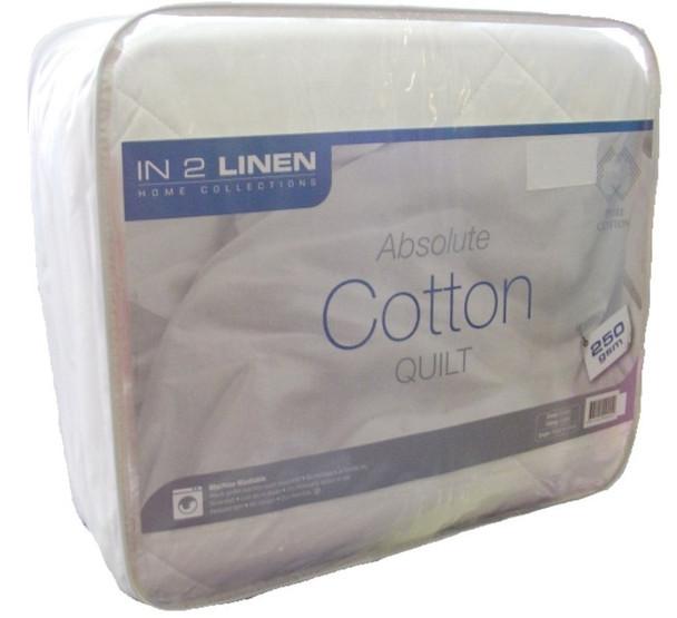 In 2 Linen Cotton Summer Doona