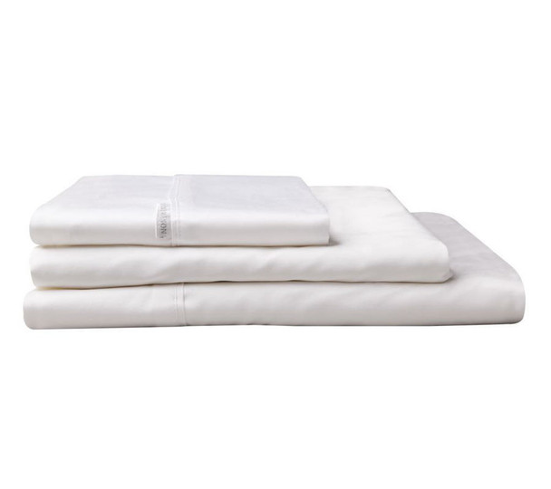 Logan & Mason  Mega King Flat Sheet - 300 x 274cm Egyptian Cotton