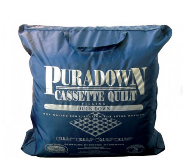 Puradown Double Duck Down and Feather Quilt