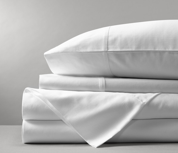 White Pillowcase 500TC Egyptian Cotton x 2 (One Pair)
