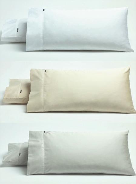 Bianca Kingston Standard Pillowcases x 2 (One Pair) 500TC