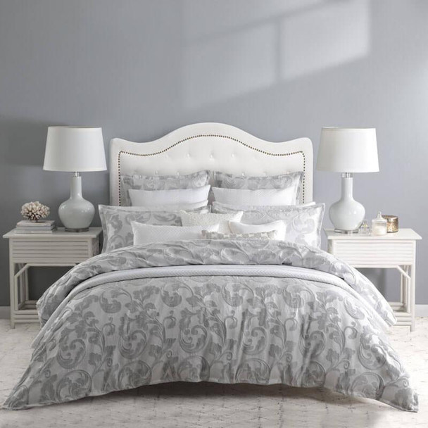 Private Collection Serenade Silver Quilt Cover Set