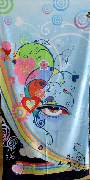 Reilly Eye Urban Art Towel