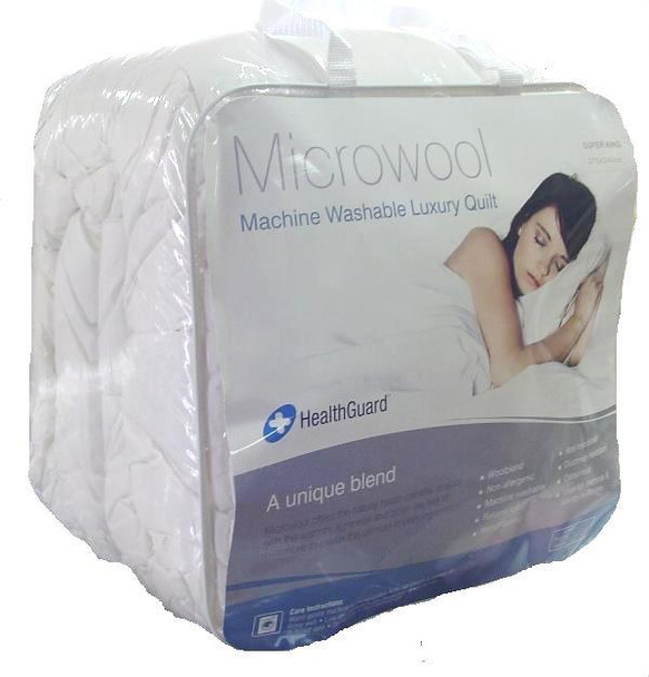 Microwool Double Quilt  300gsm - All Seasons  In 2 Linen