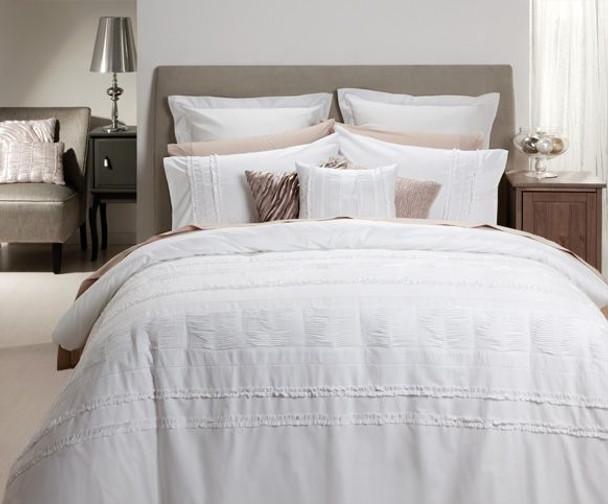 Calypso White Quilt Cover Set