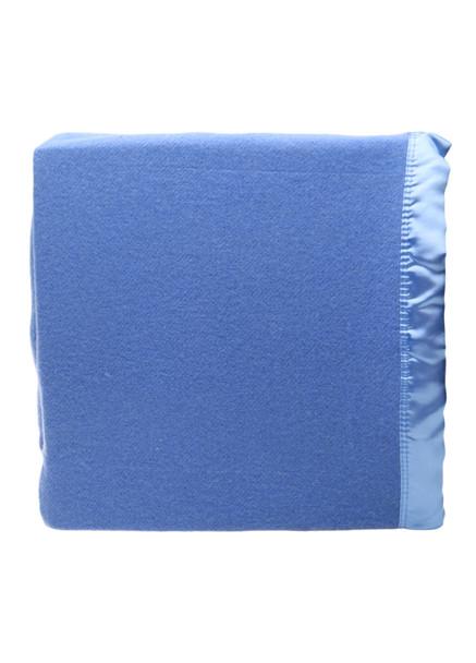 Blue Woollen Blanket