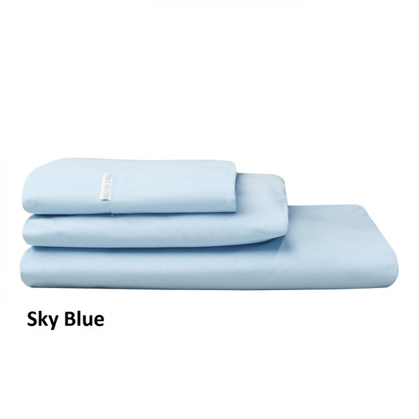 Sky Blue Pillowcases