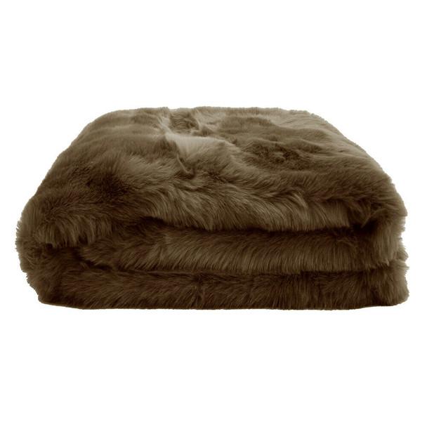 Hazel Faux Fur Throw
