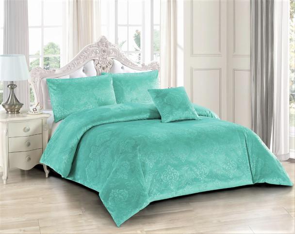 Amara Sea Green Quilt Cover Set