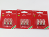 9 Pack Of Konstsmide 34V, 3W, E10, MES Spare Welcome Candle Bridge Bulbs