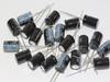 20 x 47uF 63V Radial Electrolytic Capacitors 8.2mm Diameter, 12.6mm Height