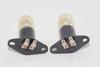 2 x Sanyo Universal Microwave Lamp Bulb 20W 240V With 2 x 4.7mm Flat Terminal