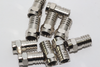 10 x Vision V17-101 Weatherproof Crimp Male F Plug Connector, RG6, WF100, CT100