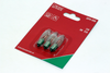 3 Pack Of Konstsmide 23V, 3W, E10, MES Spare Welcome Candle Bridge Light Bulbs