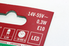 6 Pack Of Konstsmide LED 14-55V, 0.3W, E10, MES Spare Welcome Candle Bridge Bulb