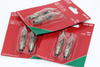 6 Pack Of KonstsmIde 230V, 1.5W, E10, Flicker Flame Welcome Candle BrIdge Bulb